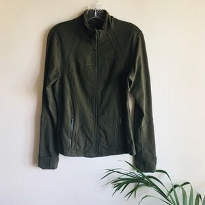 🍋Dark Olive Lululemon Define Jacket Size 10